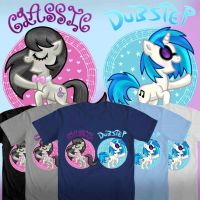 Team MUSIC (WeLoveFine MLP Contest Design) by foxgirlKira