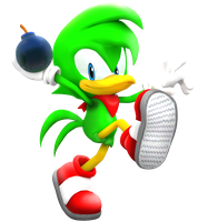Bean the Dynamite In Sonic World by Nibroc-Rock