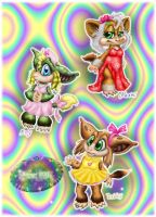 ::3 Fem Characters 2011:: by norngirl