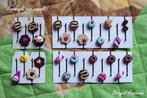 Sweet hair clips by spraysil