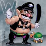W is for Wario by Arzeno