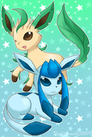 4th Gen Eeveelutions by NightComet