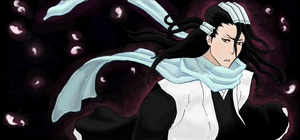 Bleach Graffiti: Byakuya by GoaliGrlTilDeath