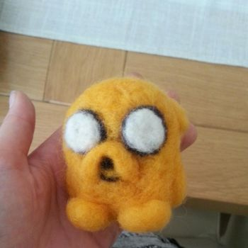 needle felt Jake by starsandtopsoil
