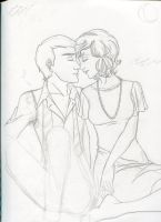 WIP: Peter and Emily by skelly-jelly
