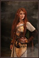 Elven warrior - Costume by TatharielCreations