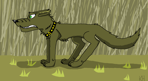 Army wolf by HungerGamesTribute45