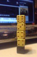 Tower of Pimps Dice by Pathlon