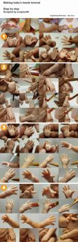 Making baby hands tutorial by sculptor101