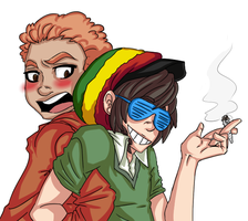 GL - Rasta Bros by Xiaine
