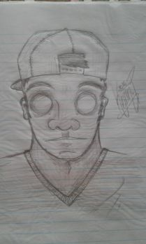 My first drawing of this kind by KevinLePrego