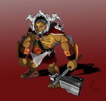 Goron warrior by AdoubleA