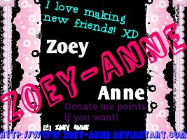 About Zoey-Anne by Zoey-Anne