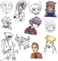 Old drawings and OCs by FantastiKurl