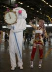 Serah and..Mog ? by memoire-hana
