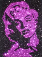 Marilyn In Magenta by The-Glitteress