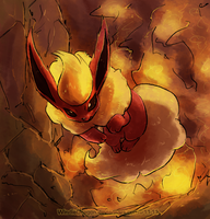 SQ-Flareon by WindieDragon