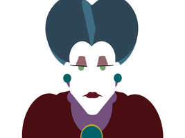 Lady Tremaine -minimal- by Arnumdrusk