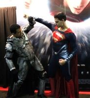 General Zod Cosplay vs Man of Steel by DaxBeren