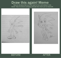 .:Before and After Meme:. [Sonic The Hedgehog] by ValleiiTheCat