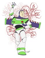 Buzz Lightyear Al Rescate by danidipps
