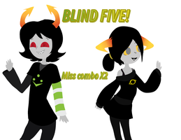 Blind 5 by Rotommowtom