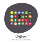 Uniform Icon Theme by 0rAX0