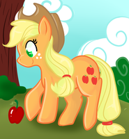 Applejack by Lustrous-Dreams