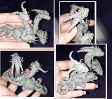 Hydra Sculpture up for sale by Darkness35Wolf