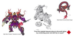 Myth Wars Galvatron colors by AcidWing