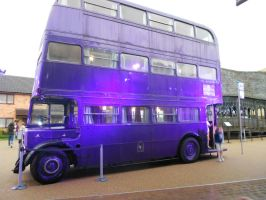 The Night Bus from Harry Potter film by darioargento111