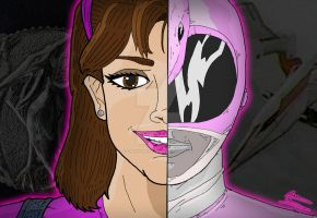 Power Rangers Duality - Kimberly Hart by OptimumBuster