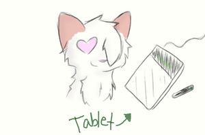 I love my tablet! by owls1999
