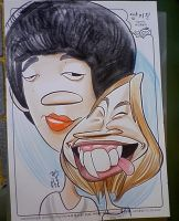 Live Caricature 26 by aaronphilby