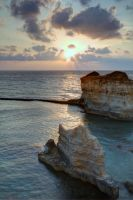 Sunrise in Otranto by zemrude
