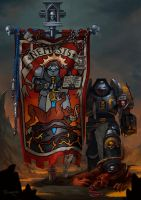 Grey Knights Banner by Nord-Sol