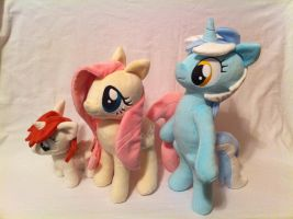 Pony size comparison by PlanetPlush