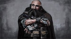 The Hobbit - Dwalin by greQ111