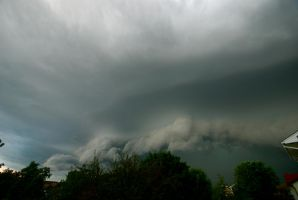 Wide-Angled Shelf Cloud #2 by MNgreen