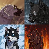 Icons by InstantCoyote