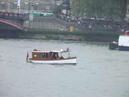 Canal Boats VI by YesIamEccentric