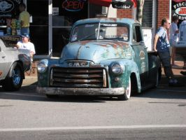 Old GMC Truck by RedlineGearhead