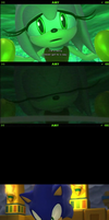 Sonic Lost World Sonamy moment by Silverdahedgehog06
