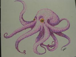 Pink Octopus by HeatherWhat