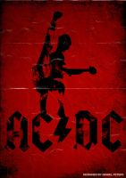 Band Poster: ACDC by elcrazy