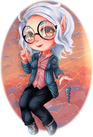 Up to the clouds by Ly-sany