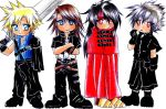 Emo Boys of Final Fantasy by Rurutia8