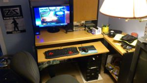 New Gaming Setup by TheWarRises