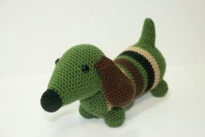 Custom Dachshund Order by Heartstringcrochet