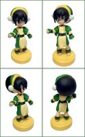 Toph Customized Figurine by LeiliaClay
